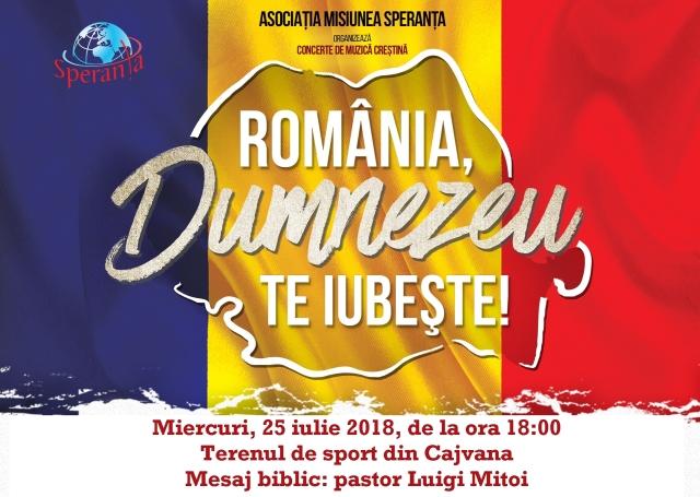 Romania, Dumnezeu te iubeste