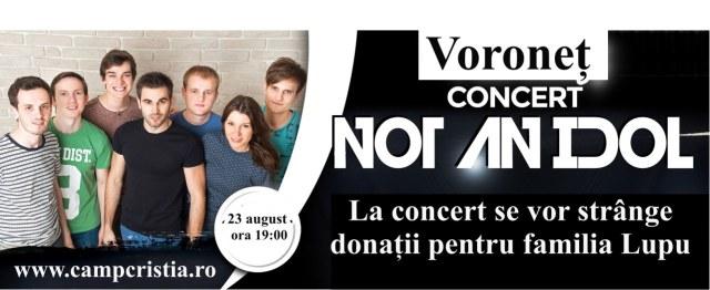concert not an idol Voronet