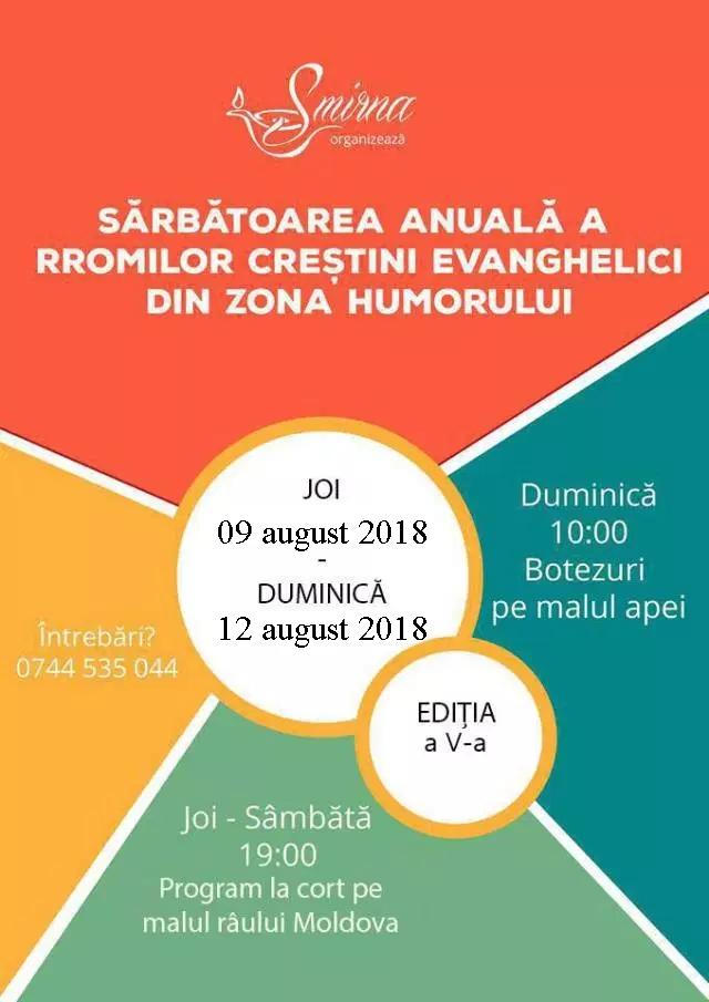 SArbatoarea anuala a rromilor 2018