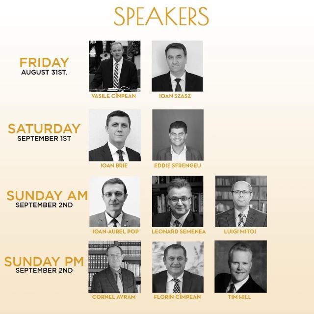 vorbitorii la Conventia 50