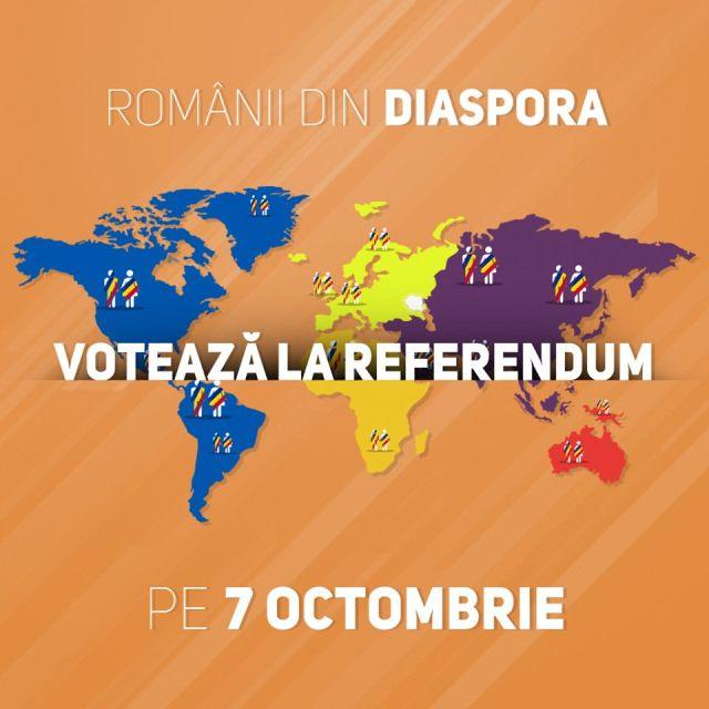 diaspora voteaza la Referendum