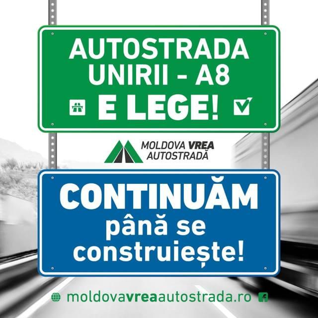 Moldova vrea autostrada A8